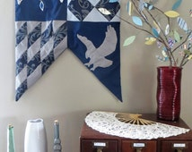 A Treasure Beyond Wit // Decorative Medieval Wall Banner // Ravenclaw House