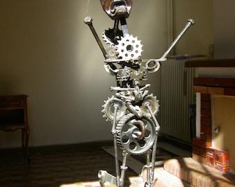 """Sculpture metal """"voodoo child"""""""
