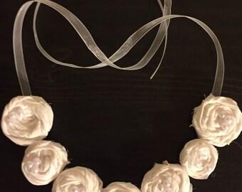 Romantic Seven Flowers Necklace