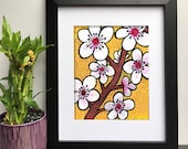 Cherry Blossoms Wall Art ...