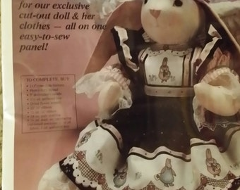 Bunny doll kit, Daisy kingdom
