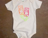 Gummy Bear Baby Onesie - Screenprint Tee