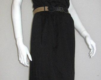 Betty Barclay 70s 80s vtg color block dress