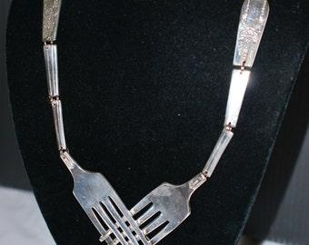 Unique Heart Fork Necklace