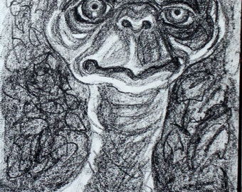 ET The Extra-Terestrial, (#2) 8.5 x 11 inches by Kenney Mencher