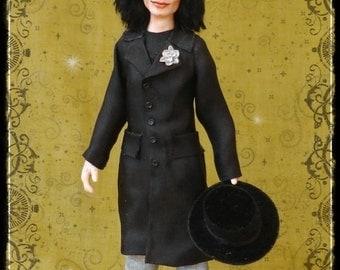 MICHAEL JACKSON ooak 1/12 dollhouse doll by Soraya Merino