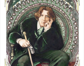 "Wilde - Archival Giclee Print - Limited Edition - 8.5"" x 11.5"""