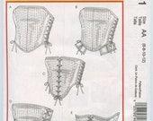McCall's 4861 Renaissance Reversible Corset Tops Costume Pattern Size 6 -12 and Size 14-20 UNCUT