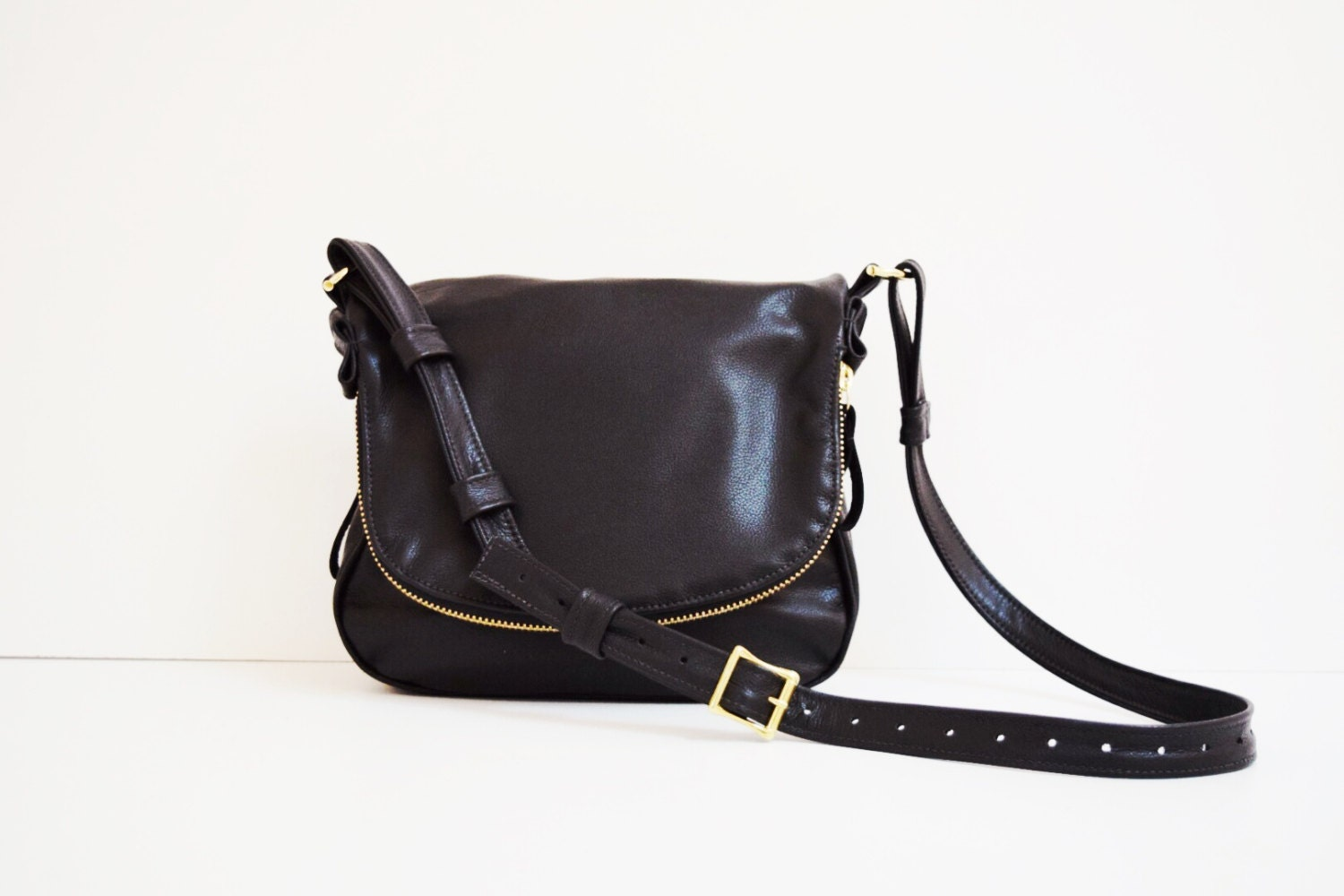 0f3722b35b7d Black Leather Purse With Zippers | Stanford Center for Opportunity ...