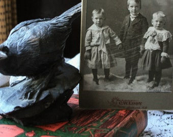 Formal Portrait of Three Young Children,