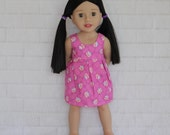 Simply Sweet Blue Sleeveless Summer Dress - Dolls Clothes to fit Australian Girls dolls only