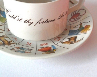 Rare Fortune Telling Teacup - The Taltos Fortune Telling Teacup -
