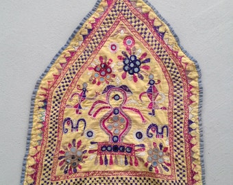 VTG INDIA ARTISAN Handmade Hindu Home Shrine Canopy Decoration Traditional Ethnic 1950s 1960s - Excellent Condition !