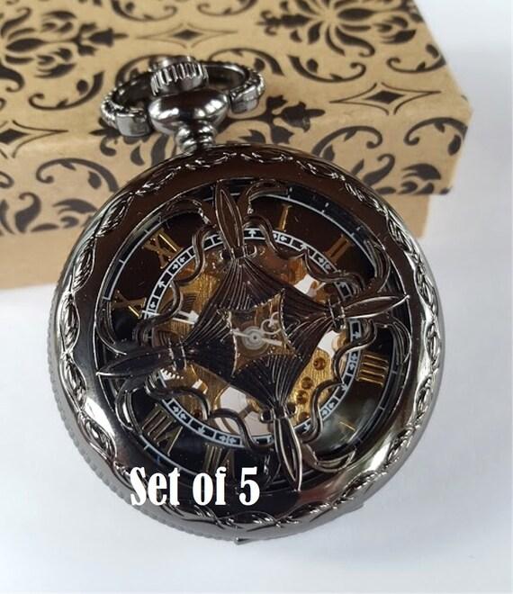 groomsmen gift engraved pocket by pocketwatchpurveyor