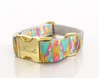"Adjustable dog collar ""Sunshine"""