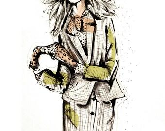 Fashion Illustration/Art Print