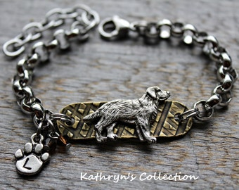 Labrador Retriever Bracelet, Lab Bracelet, Lab Mom, Black Lab, Yellow Lab, Chocolate Lab, Lab Jewelry