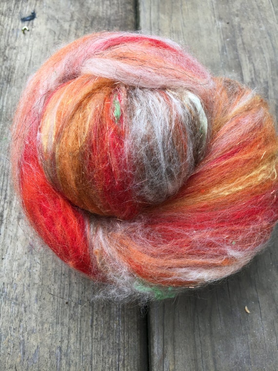 Fall Colors Fiber Batt