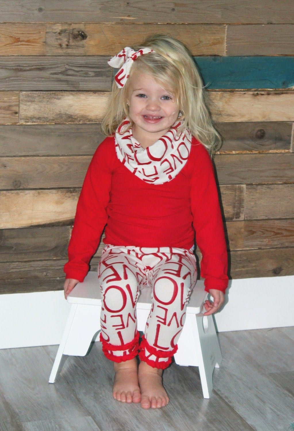 Baby Girl Valentines Day Outfit Girl Toddler Outfit