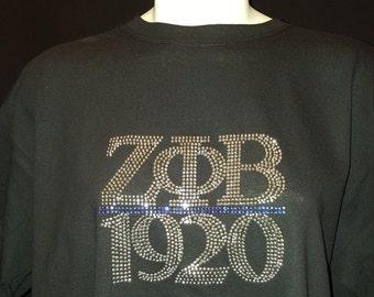 Zeta Phi Beta 1920 T shirt