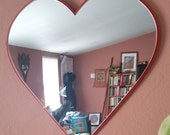 Heart Mirror Heart Wall Art Decorative Heart Art Valentines Day Gift for Her