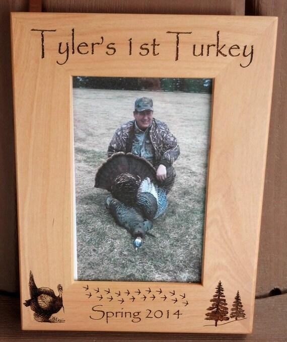 turkey hunting first turkey frame 1st turkey gift for hunter turkey hunter