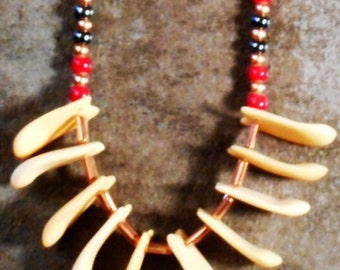Moose tooth Necklace