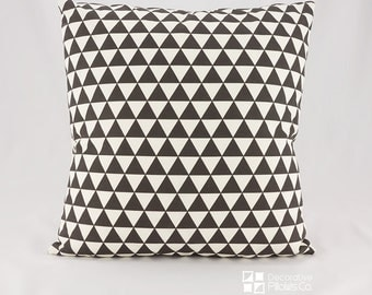 50% OFF SALE - Throw Pillow Covers - Throw Pillows - Scandinavian Decor - Geometric Black Throw Pillow covers - Decorative Pillows