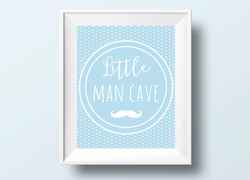 Little Man Cave Wall Art : Little man cave nursery wall art home