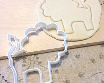 Lion Cookie Cutter - Fondant Icing Cake Cupcake Topper Iced Sugar Cookies Mold Biscuits Mould Animal Circus Zoo Jungle Birthday Party