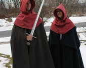 Medieval Hoods Set of Two Valentines Day Gift His and Hers Ready to Ship