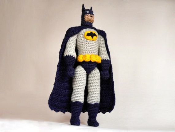 HaKELN MUSTER Amigurumi hakeln Sie Batman Batman von ...