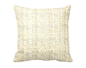 7 Sizes Available: Decorative Throw Pillow Covers Yellow Pillow Cover Yellow Throw Pillow 18x18 Pillow Cover 20x20 Pillow Cover Aztec Pillow