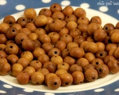 Sandalwood Beads, 6mm, loose beads, Mala Beads, Prayer Beads, Wooden Beads, 108 beads