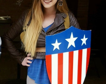 Captain America WWII Shield Cosplay Prop Marvel Comics Replica - The First Avenger