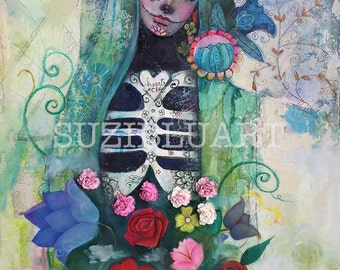 DOTD Girl and Open Your Heart Online Art Workshop with Suzi Blu
