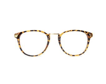 panto round glasses men women spectacle leopard frame vintage gold eyeglasses hipster retro eyewear summer selection