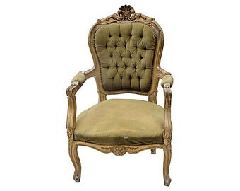 SALE!!! 19th-C. French Rococo Louis XV-Style Fauteuil