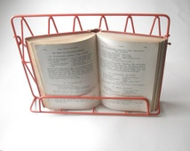 wire cookbook stand retro kitchenalia