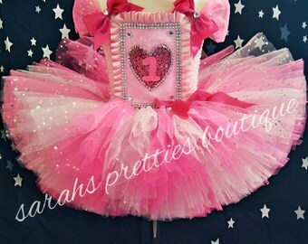 birthday pink tutu dress