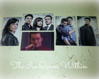 Torchwood magnet (five different designs available) Gwen Cooper, Ianto Jones, Captain Jack Harkness