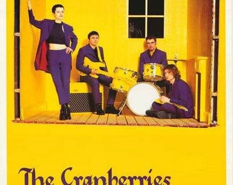 The Cranberries Faithful Departed  Rare Poster