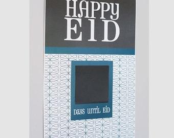 Eid Countdown Poster, MOD design Eid Countdown