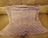 Adult Mermaid Tail Handmade Blanket