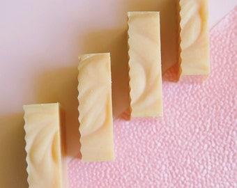 Exfoliating Pink Grapefruit & Coconut Milk Soap // Cold Process // Vegan