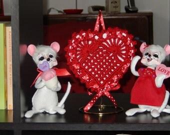 Crochet Valentines Heart