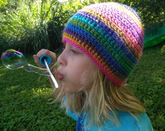 Carnival Ride Colored Beanie