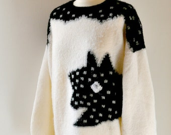 Knitted vintage sweater
