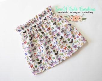 Magical Doddle Paperbag Skirt