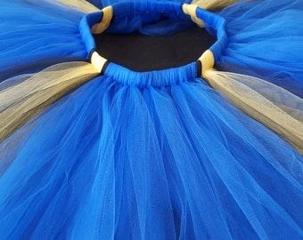 Finding Dory theme tutu - blue, yellow, and black tutu - newborn tutu - infant tutu - baby tutu - adult tutu - Halloween tutu costume
